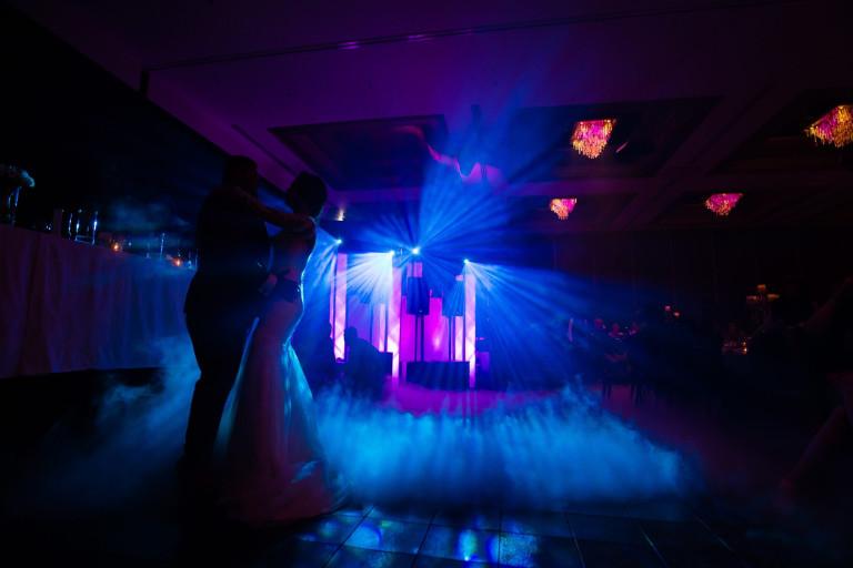 dance in neon light